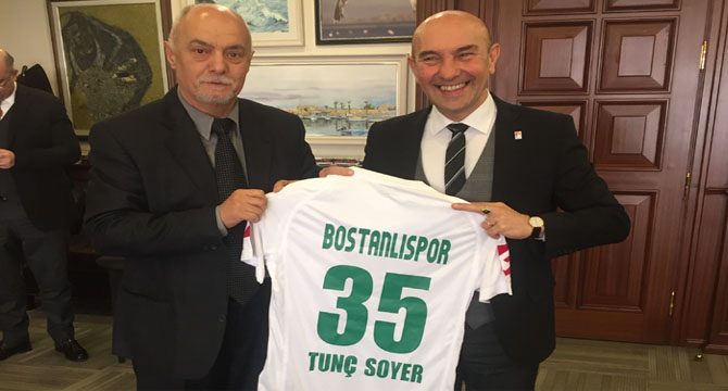 BOSTANLISPOR'UN 35 NUMARASI TUNÇ SOYER'İN